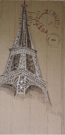 Eiffel post