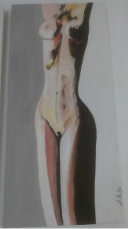 Desnudo en gris 2
