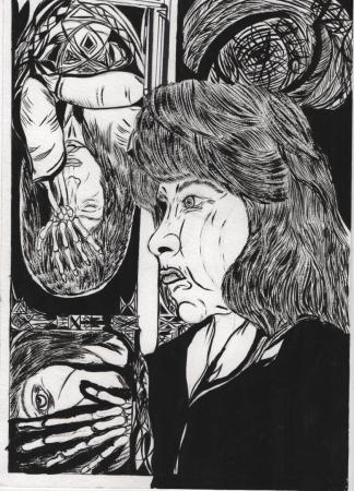 Depresion de una madre(boceto)