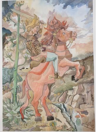 Boceto 1 para La Gran Tribulación