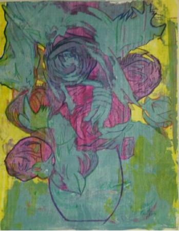 Abstracto Rosas
