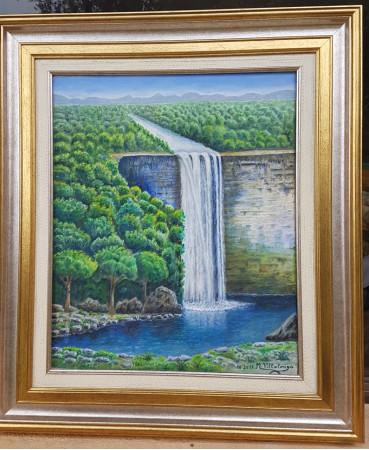 El bosque y la cascada