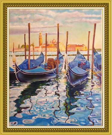 Venecia en azules