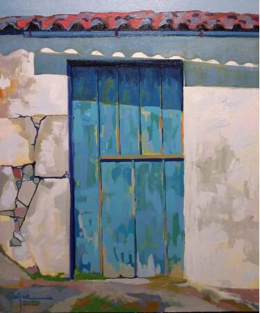 Puerta en Bayona