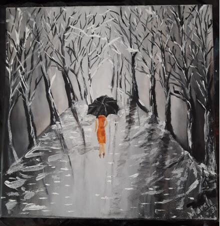 Caminata sobre hielo