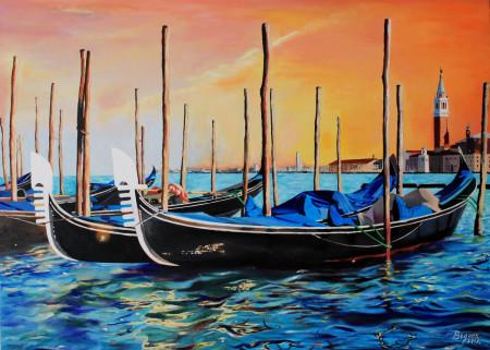 Atardecer en Venezia