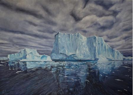 Tempano, Glaciar Grey