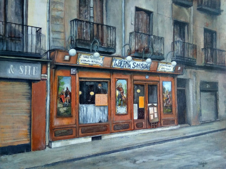 Taberna de San Isidro-Madrid
