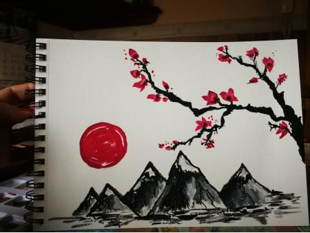 Japón florido