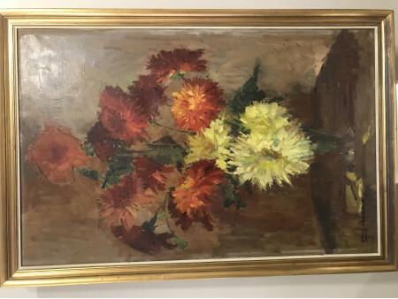 Bodegón  flores