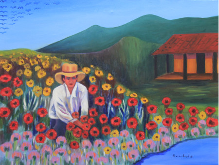 El floricultor