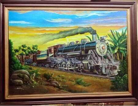 El ferrocarril de las zonas bananeras de América y el desierto de Arizona.