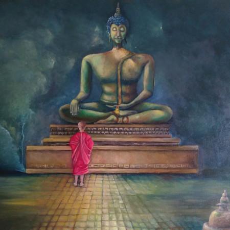 Ofrenda a Buda