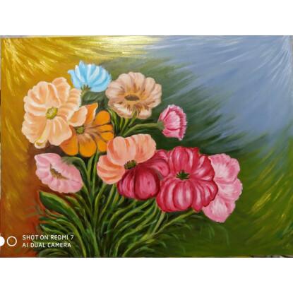 Flores color pastel