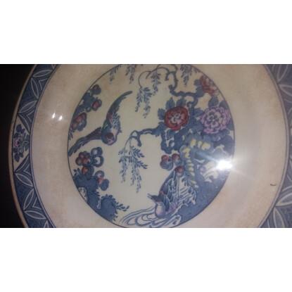 Plate Bristol England Ceramic