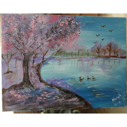 """""""El lago azul"""""""