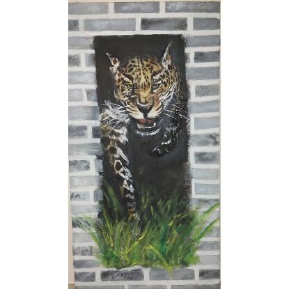 Leopardo pichichi. (venta por encargo).