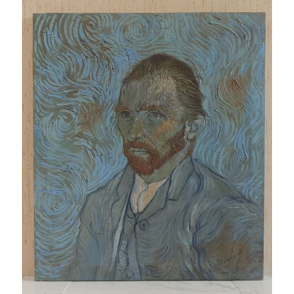 Vincent Van Gogh, Beautiful painting signed and sealed in oil on canvas.