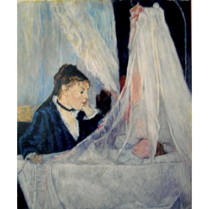 La cuna, homenaje a Berthe Morisot