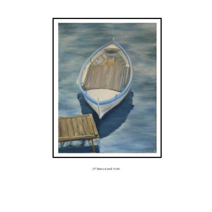 Barca al moll