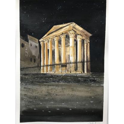 Templo Romano de La ciudad de Vic