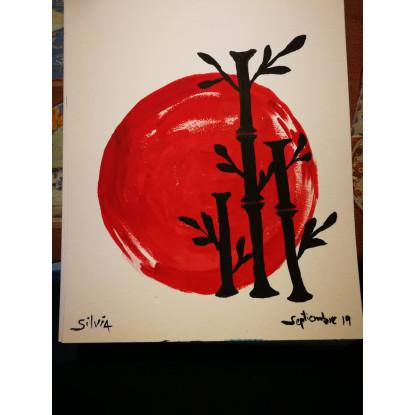 Japón bambus