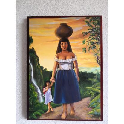 Madre e Hija Amazonas Peruana