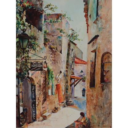 Baux en Provence, France
