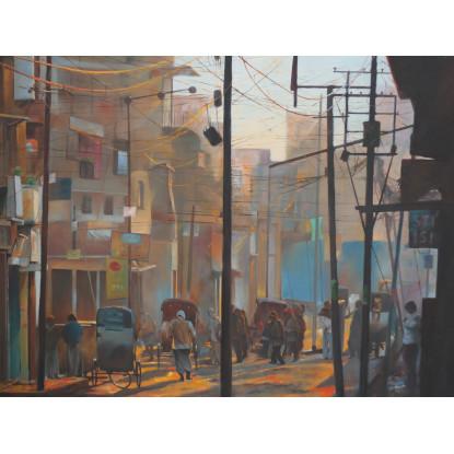 Calle de Munger, India