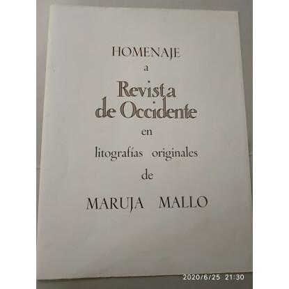 """Serie Homenaje a """"Revista de Occidente"""" 1979"""