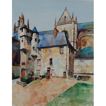 Castillo del Duque, Nantes, Francia
