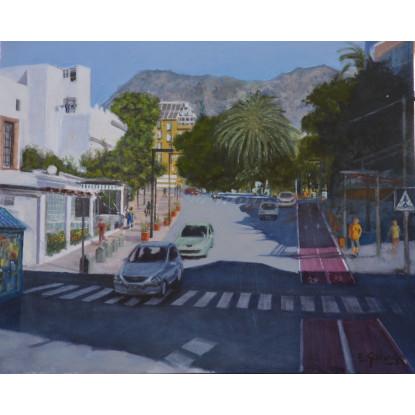 Una calle de Marbella