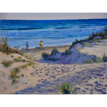 Un trozo de playa