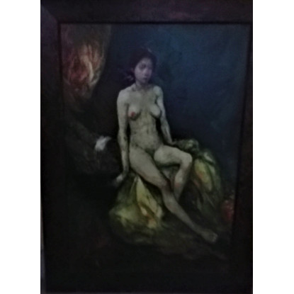Desnudo de mujer joven
