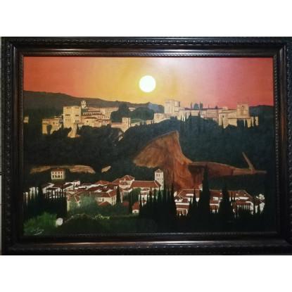 La Alhambra de Granada y el Albaicín