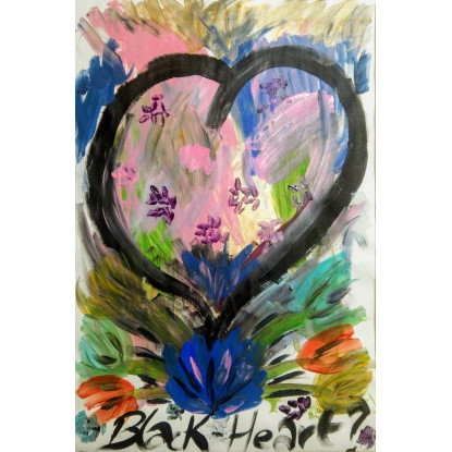 Corazón Negro - Black Heart