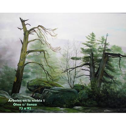 Árboles en la niebla 1
