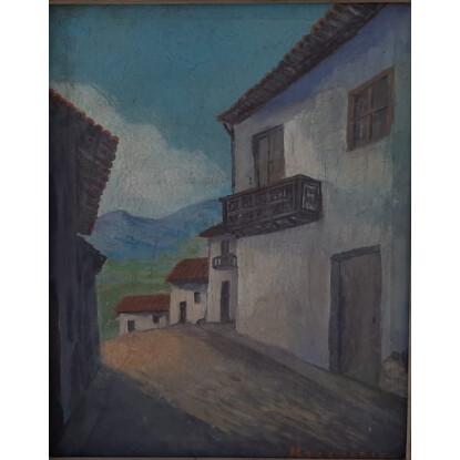 CALLE DE PUEBLO DE LA SIERRA