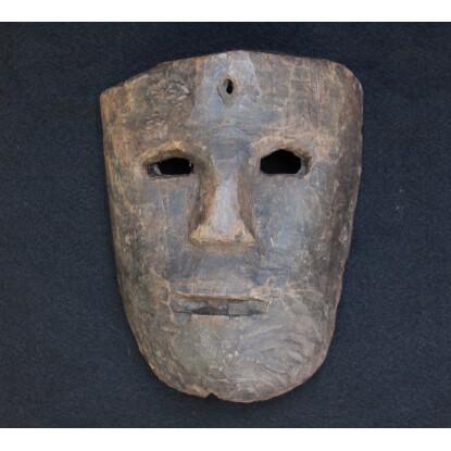 Máscara proveniente de la Costa de Oaxaca.