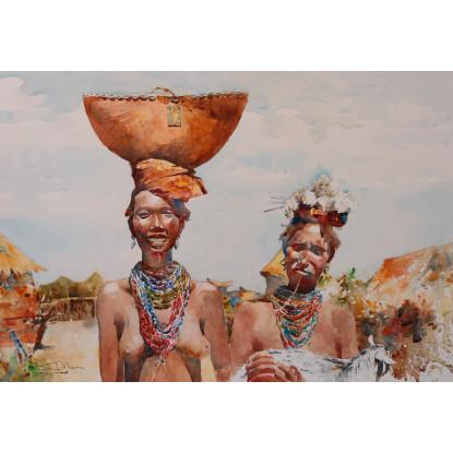 Mujeres en el Valle del Omo, Etiopía