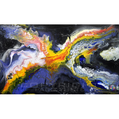 Sinfonía de colores 2 (GL-PY082718AB) Fine Art Giclée