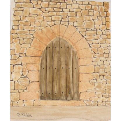 La puerta del castillo