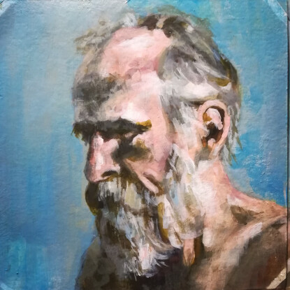 Retrato hombre Adulto II