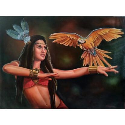 La nativa y la lapa.