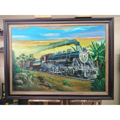 El ferrocarril de las zonas bananeras de Costa Rica