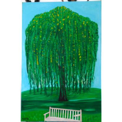 árbol en parque