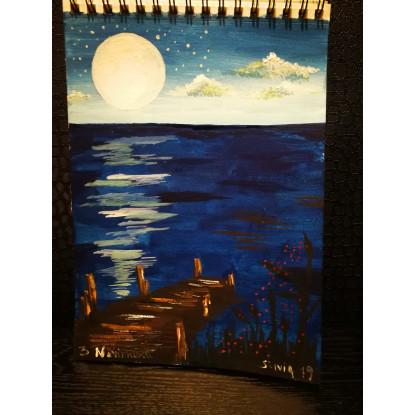 Noche en el embarcadero
