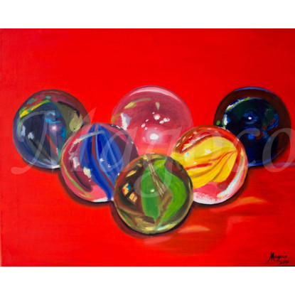 Canicas de cristal