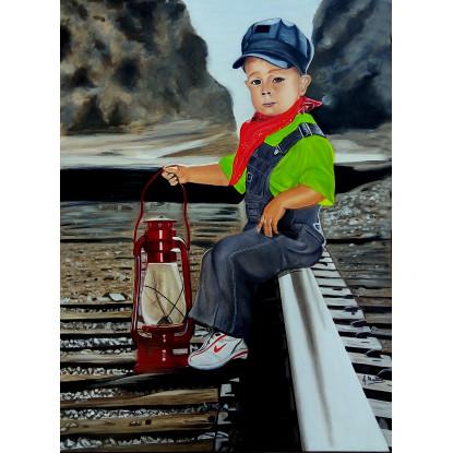 El joven ferroviario