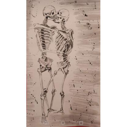 Besos en los huesos